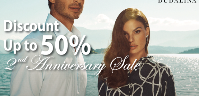 Second Anniversary Sale – Up to 50% Discount
